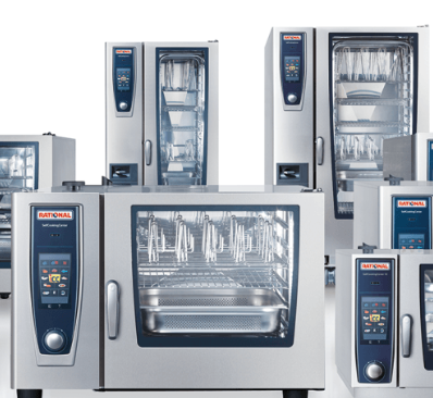 Picture of RATIONAL AG cooking equipment line-up